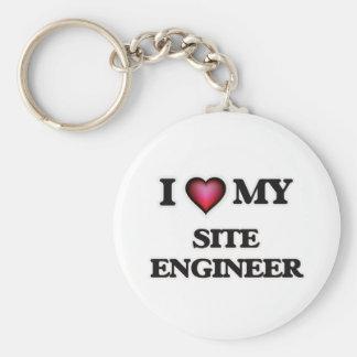 I love my Site Engineer Keychain