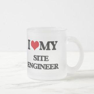 I love my Site Engineer Mugs