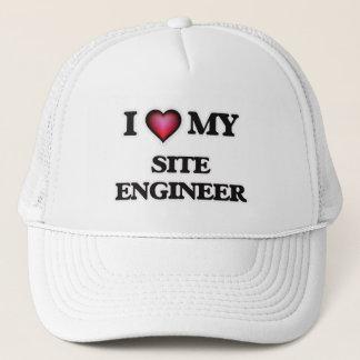 I love my Site Engineer Trucker Hat