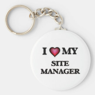 I love my Site Manager Keychain