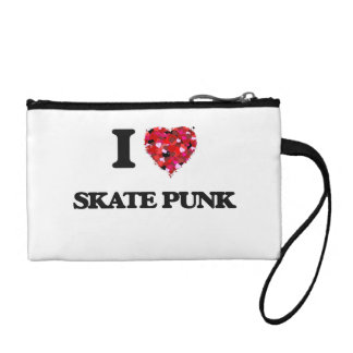 I Love My SKATE PUNK Coin Wallets