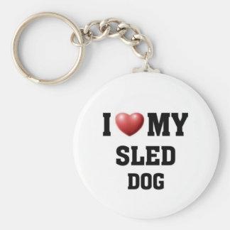 I love my Sled Dog Keychain