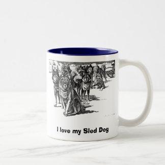 I love my Sled Dog Mug