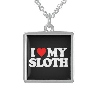 I LOVE MY SLOTH NECKLACE