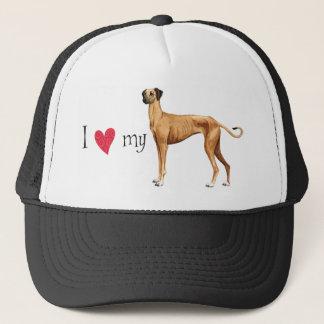 I Love my Sloughi Trucker Hat