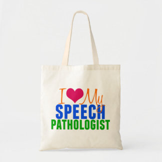 I Love My SLP Tote Bag