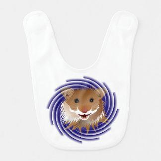 I love my small hamster Lätzchen Baby Bib