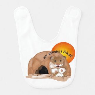 I love my small hamster Lätzchen Bib