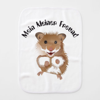 I love my small hamster spitting cloth