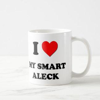 I love My Smart Aleck Classic White Coffee Mug