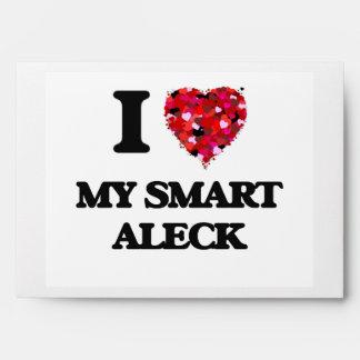 I love My Smart Aleck Envelopes