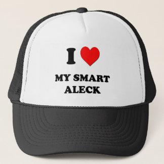 I love My Smart Aleck Trucker Hat