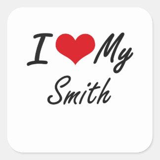 I love my Smelter Square Sticker