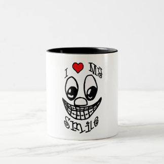 I Love My Smile Coffee Mugs
