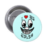 I Love My Smile Pins