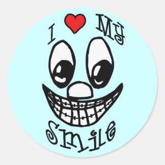 I Love My Smile Stickers