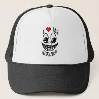 I Love My Smile Trucker Hat