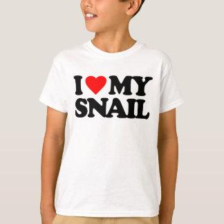 I LOVE MY SNAIL T-Shirt