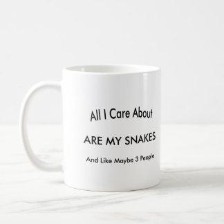 I Love My Snakes Coffee Mug