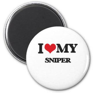 I love my Sniper Fridge Magnet