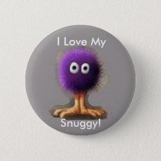 I Love My, Snuggy! Pinback Button