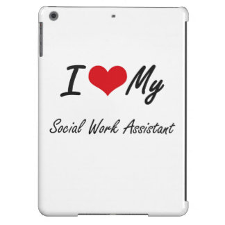 I love my Social Scientist iPad Air Cases