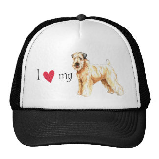 I Love my Soft Coated Wheaten Terrier Trucker Hat