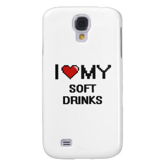 I Love My Soft Drinks Digital design Galaxy S4 Cover
