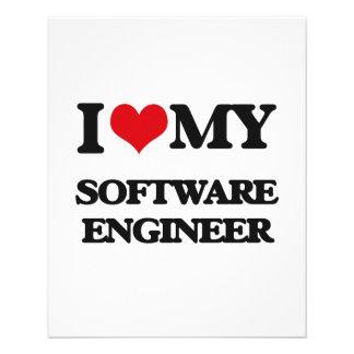I love my Software Engineer Flyer Design