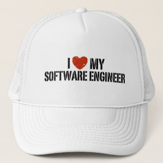I Love My software Engineer Trucker Hat