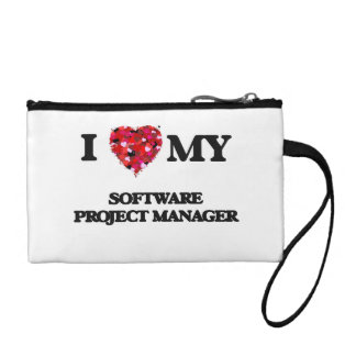 I love my Software Project Manager Coin Purses