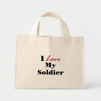 I Love My Soldier Bag