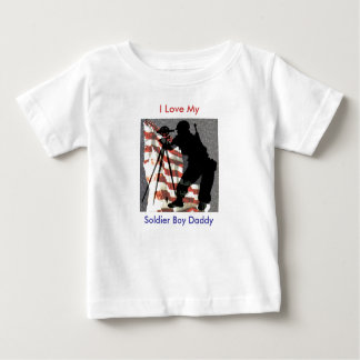 I Love My Soldier Boy Daddy T-Shirt