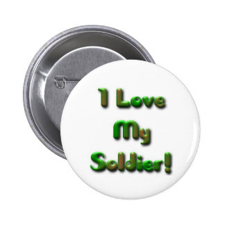 I love my soldier button