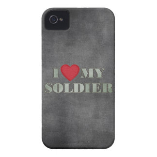 I love my soldier Case-Mate iPhone 4 case
