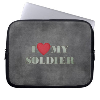 I love my soldier computer sleeve