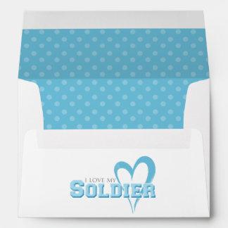 I love my Soldier Envelope