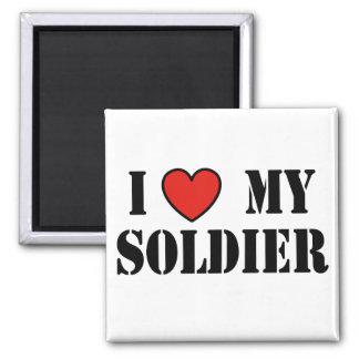 I LOVE MY SOLDIER FRIDGE MAGNETS