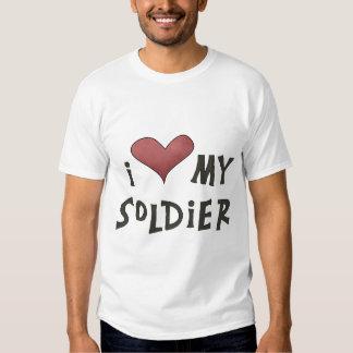 I Love My Soldier *Tshirt* Shirt
