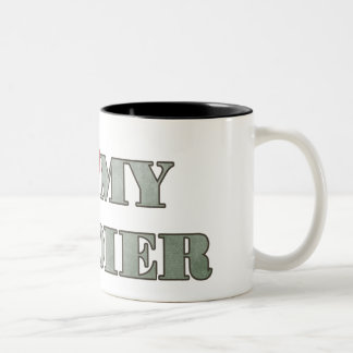 I love my soldier Two-Tone coffee mug