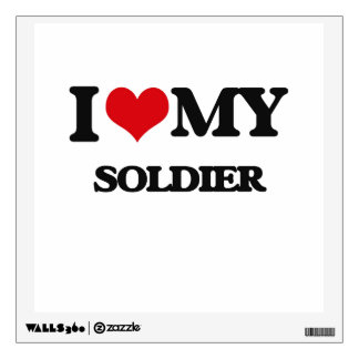 I love my Soldier Wall Graphics