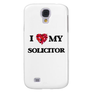 I love my Solicitor Galaxy S4 Cover