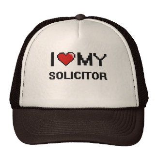 I love my Solicitor Trucker Hat