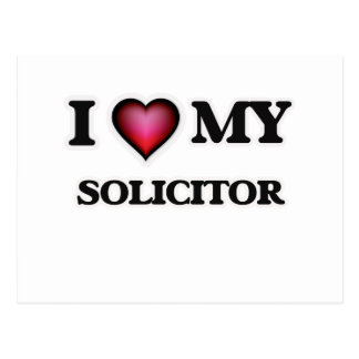 I love my Solicitor Postcard