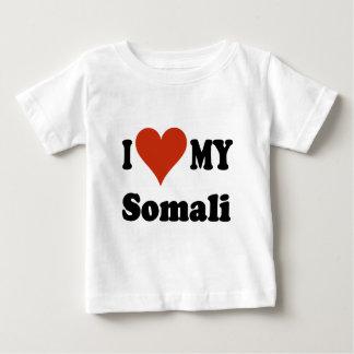 I Love My Somali Cat Merchandise Baby T-Shirt