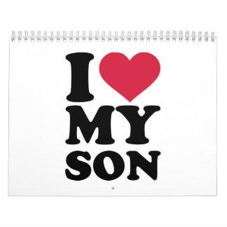 I love my son calendar