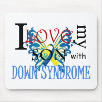I Love My Son with Down Syndrome Mouse Pad