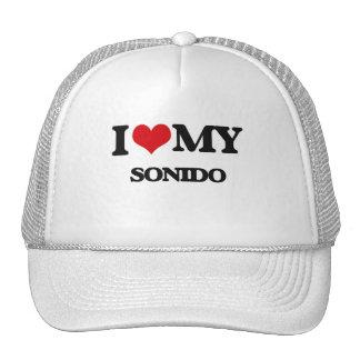I Love My SONIDO Hats