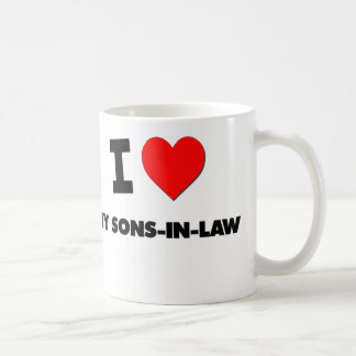 I love My Sons-In-Law Classic White Coffee Mug