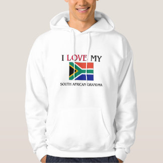 I Love My South African Grandma Hooded Sweatshirts